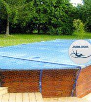 Couverture à barres pour piscine bois hors sol