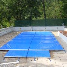 Couverture s curit piscine barres securit pool access for Toile solaire piscine prix