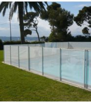 Cloture de s curit et barri res de piscine conformes nf p 90 306 - Barriere piscine amovible ...