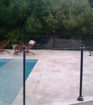 Cloture de piscine Inox Balck and White Oceanix