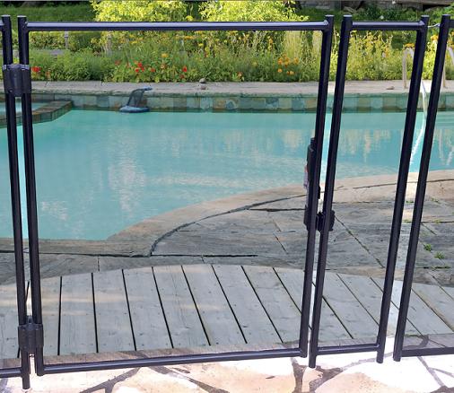 Barri re de piscine beethoven rigide avec cadre aluminium for Piscine rigide