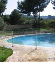 Sécurité piscine : Cloture de piscine en verre Océanix